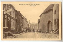 E3442 - FOURON - SAINT - MARTIN  -  Rue De L'église - Kerkstraat - Voeren