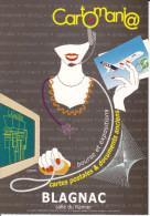 CPM BOURSE SALON DE LA CARTE POSTALE CARTOMANIA BLAGNAC DESSIN CHABERT 2000? - Borse E Saloni Del Collezionismo