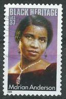 USA 2005 Marian Anderson 37c  USED SC 3896 YV 3626 MI 3904 SG 4413 - Etats-Unis