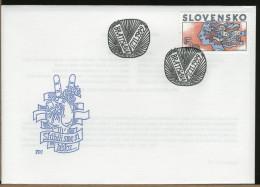 SLOVENSKO  -  FDC  -  INAUGURACIA  PREZIDENTA - FDC
