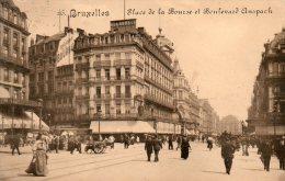 Bruxelles - Place De La Bourse Et Boulevard Anspach - Brussels (City)