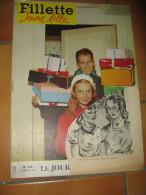 FILLETTE JEUNE FILLE 03 JANVIER 1957 N° 546 - Journaux - Quotidiens
