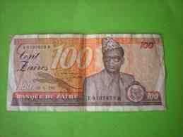 100 Zaïres 1983 - Zaire
