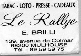 BOITE D'ALLUMETTES LE RALLYE - Boites D'allumettes