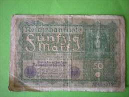 Funfzig Mark, 1919 - 50 Mark