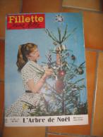 FILLETTE JEUNE FILLE 27 DECEMBRE 1956 N° 545 - 1950 à Nos Jours