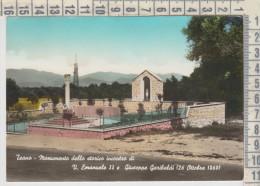Caserta Teano Monumento Dello Storico Incontro Di V. Emanuele E Garibaldi - Caserta