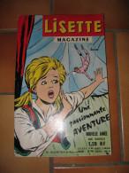 LISETTE MAGAZINE N°24 NOVEMBRE 1962 - 1950 à Nos Jours