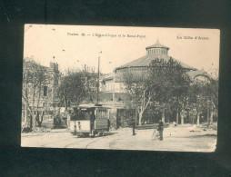 Toulon - Eden Cirque Et Rond Point ( Animée Tramway éditeur ?? N°38 En L'état) - Toulon