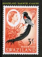SWAZIELAND  Scott  # 138**  VF MINT NH - Swaziland (1968-...)