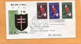 Philippines 1963 FDC - Filipinas