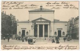 75 - PARIS 17 - Eglise Sainte-Marie Des Batignolles - 305 - Eglises