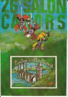 CPSM BOURSE SALON  COLLECTIONNEURS CAHORS  26 EME  2000 ETIENNE QUENTIN ESCALADE PONT VALENTRE - Borse E Saloni Del Collezionismo