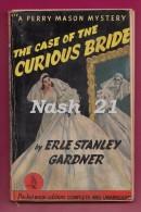 1934 -   Pocket Books Edition '' The Case Of The Curious Bride '' By Erle Stanley Gardner - 252 Pages - Boeken, Tijdschriften, Stripverhalen