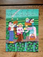 Purée Mousseline - Puzzle 16cmx21cm : Les Vendanges - Altri