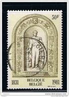 STANDBEELD LEOPOLD I/STATIE LEOPOLD I - COB : 2003 - 1981 O - Belgium