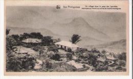 ILES PHILIPPINES  UN VILLAGE DANS LE PAYS DES IGOROTTES (SAUVAGES QUI VIVENT AU MILIEU DES HAUTES MONTAGNES) - Philippines