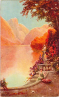 """Golden Hours - Tuck´s Postcard """"Oilette De Luxe"""" - Tuck, Raphael"""