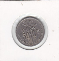 50 Centimes 1922 FL - Congo (Belge) & Ruanda-Urundi