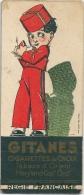 MARQUE-PAGE CIGARETTES WEEK-END GITANES Régie Française Tabacs D´Orient, Par René Vincent - Documents