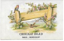 CHROMO  - CHOCOLAT IBLED - MONDICOURT - Ibled