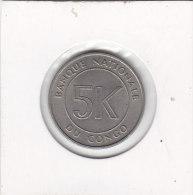 5 Makuta 1967 - Congo (Rép. Démocratique, 1964-70)