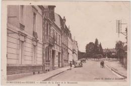 DOMPIERRE Sur BESBRE Avenue De La Gare Et Le Monument - France