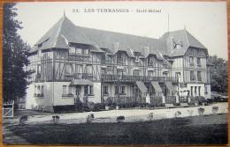 Cpa LES TERRASSES 76 Golf Hôtel - Autres Communes