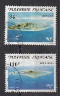 Polynésie   Iles Sous Le Vent N° 171 173 - Oblitérés