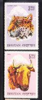 Bhutan 1966 Leopard & Goat MNH - Bhoutan