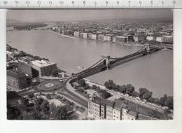 Budapest - Látkép A Lánchíddal / Ansicht Mit Der Kettenbrücke / View With The Chain Bridge - Hongrie