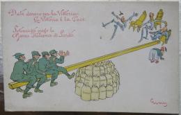 Italy, Italia, Satirical, Militaria, La Vittoria, Caricature, Turk - Autres