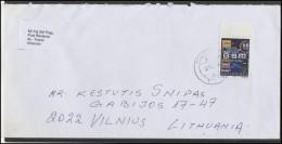 ALBANIA Postal History Brief Envelope AL 011 Transportation Communication Telephone GSM - Albanien
