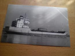 """Photograpie De Bateau """"HENRIETTE MAERSK 1982 """" DANEMARK  N°21 -A16 - Commerce"""