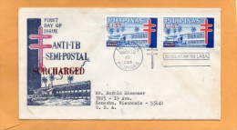 Philippines 1965 FDC - Filipinas