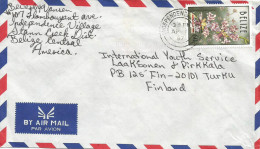 Belize 1997 Independence Oncidium Orchid 60c Cover - Belize (1973-...)