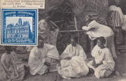 Expo Internationale De Lyon 1914 : Les Brodeurs - Lyon 7