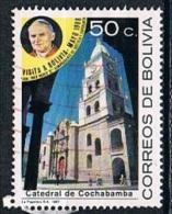 4303 - Bolivia 1988 - Visit Of Pope John Paul II   Used - Bolivia