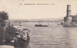 Marseille 13 - Port Phare - / Cachet 1919 Petit Hébergement Ain
