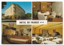 CPSM Aveyron 12 St Geniez D´ Olt Crouzet Hôtel De France édit APA Poux à Albi Non écrite - Autres Communes