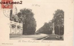 LE PERRAY LA CROIX SAINT-JACQUES ENTREE EN FORET 78 - Le Perray En Yvelines