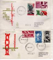 219 - FDC - ITALIA - XX ANN. RESISTENZA - EDIZIONE VENETIA - 6. 1946-.. Repubblica