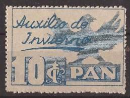 AUX4-LM03TELR.Spain Espagne.BENEFICENCIA..AUX ILIO DE INVIERNO 1936. (Galvez 4**) Sin Charnela .MUY BONITOS.RAROS - Republikanische Ausgaben