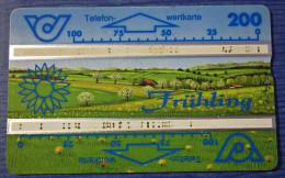 Telefonkarte Europa Österreich Frühling - Jahreszeiten