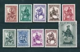Belgique N°583 A 592  Neuf ** Parfait - Belgique