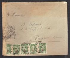 GRECE 1914/1918 Usages Courants Obl. S/enveloppe Censure Militaire Française - Storia Postale