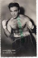 BOXE - MARCEL CERDAN  CARTE PHOTO - Boxing