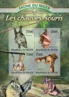 nig13104a Niger 2013 Fauna of Niger Bats s/s