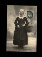 29 - ELLIANT - Costumes - Coiffes - CMCB - Panier - Elliant