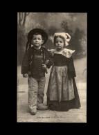 29 - ELLIANT - Costumes - Coiffes - Enfants - Elliant